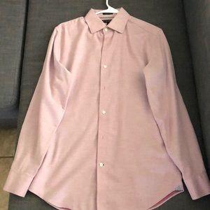 Pink Banana Republic Casual Men Shirt